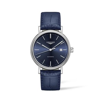 Longines Presence 40mm Automatic - Stainless Steel Blue