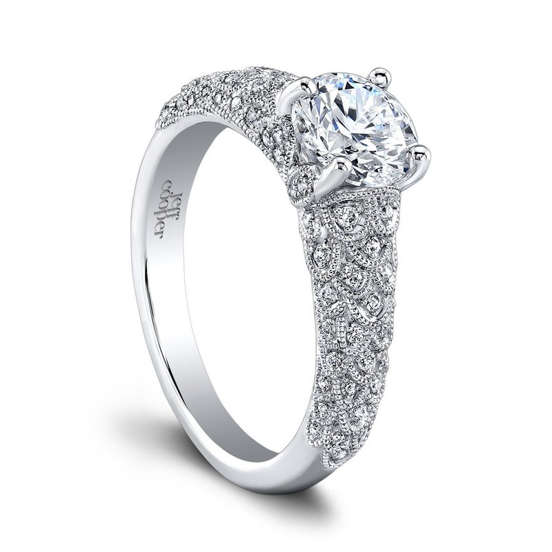 Jeff Cooper Arielle Engagement Ring