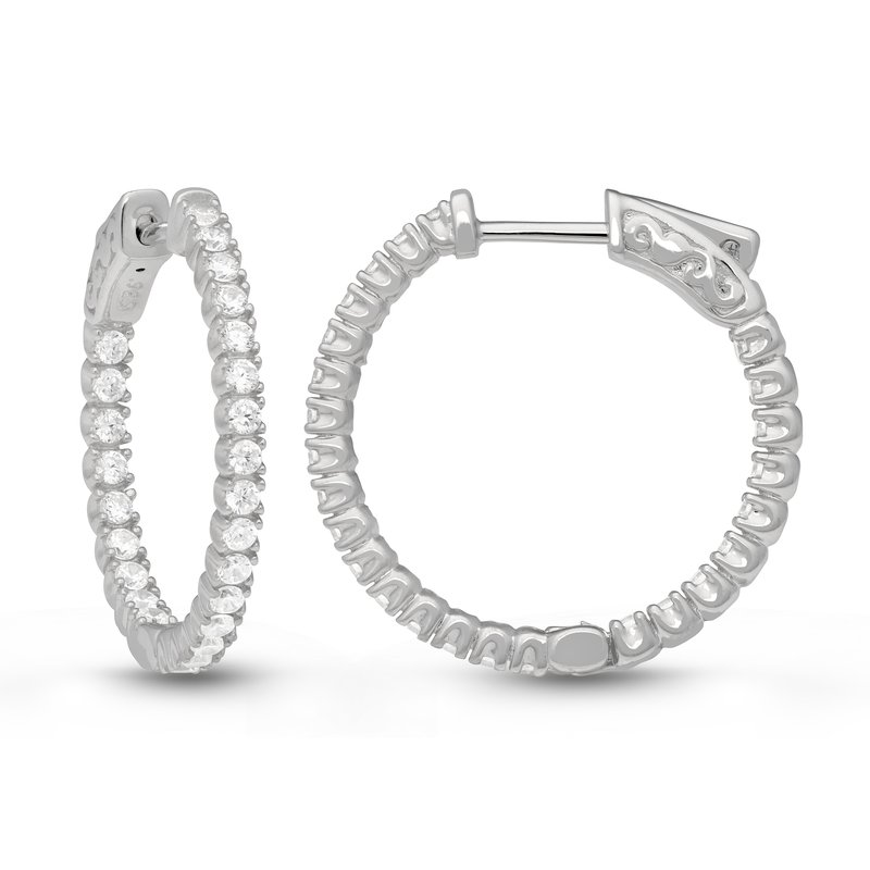 Veer MARINA FOUR PRONG HOOPS
