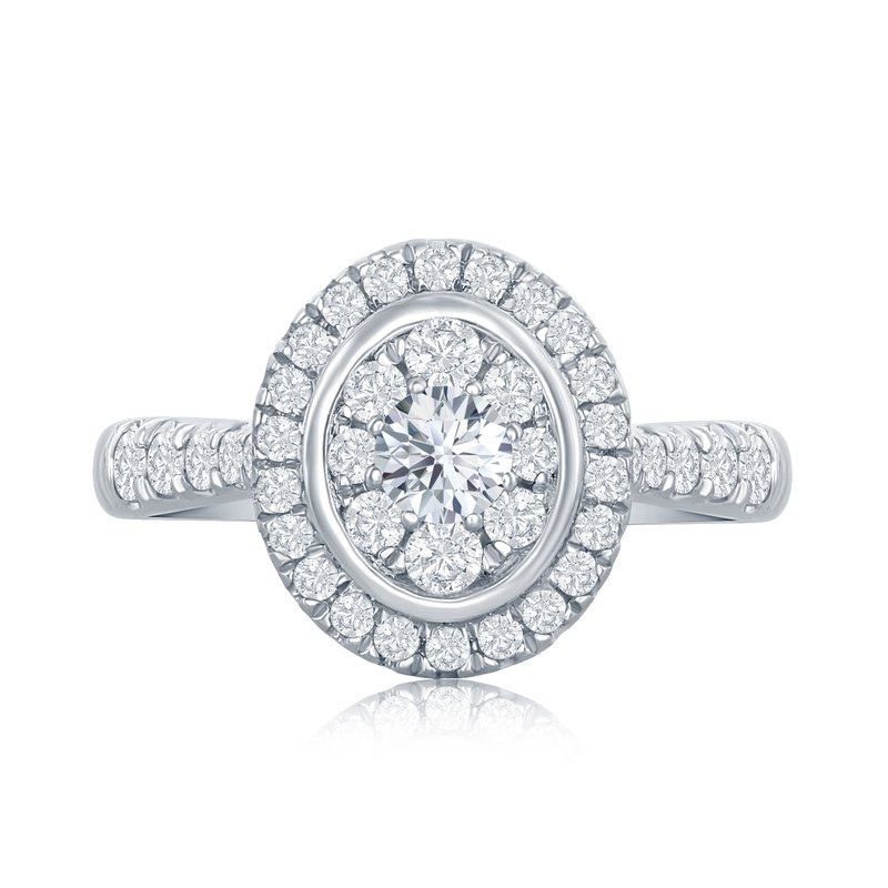 Veer Diamonds MELODY OVAL RING