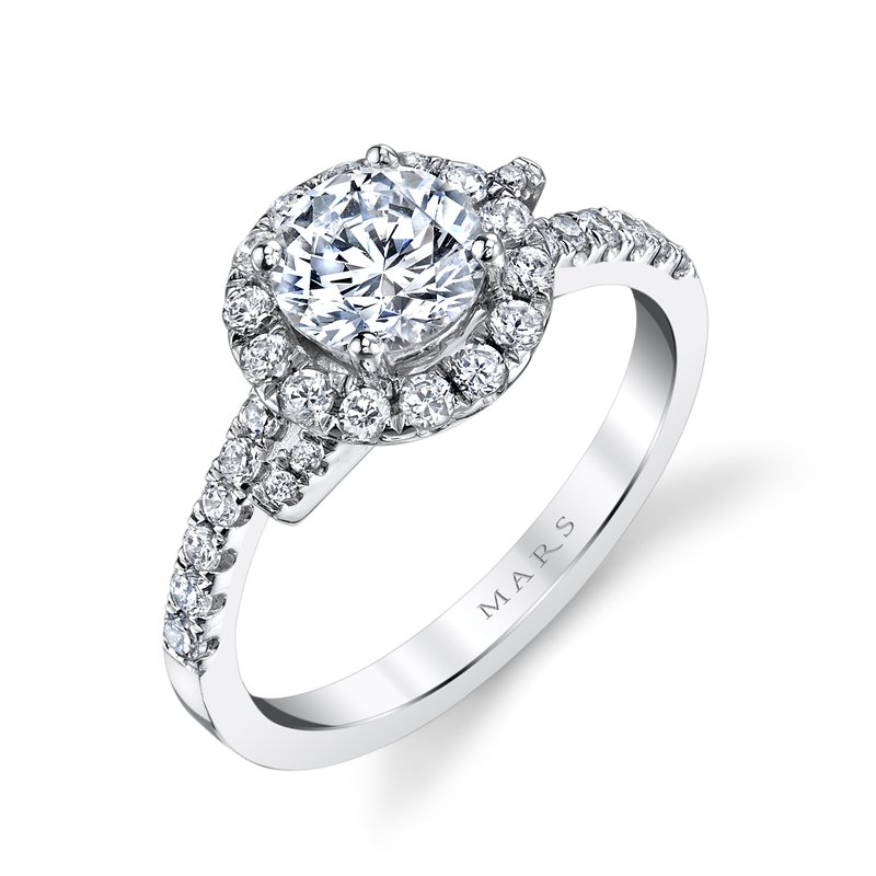 MARS Jewelry - Engagement Ring 25648