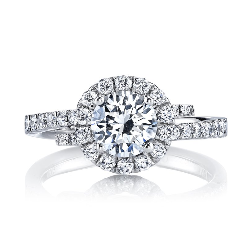 MARS Jewelry Diamond Engagement Ring 0.53 ctw