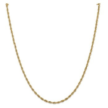 14ky 2.8mm Semi-Solid Rope Chain