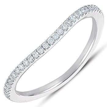 White Gold Matching Band for en7283