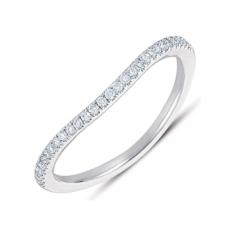 S. Kashi & Sons Bridal White Gold Matching Band for en7283
