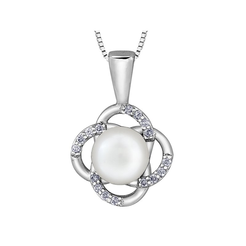 Diamond Days Pearls Pendant