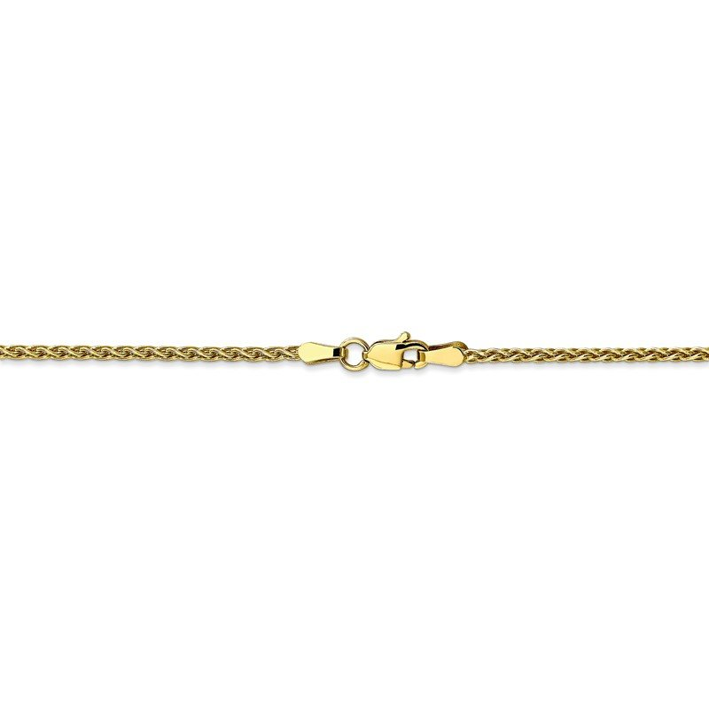 Quality Gold 10k 1.75mm Parisian Wheat Chain