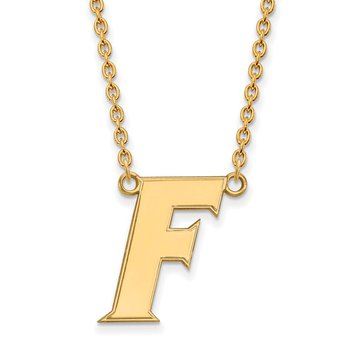 Gold-Plated Sterling Silver University of Florida NCAA Necklace