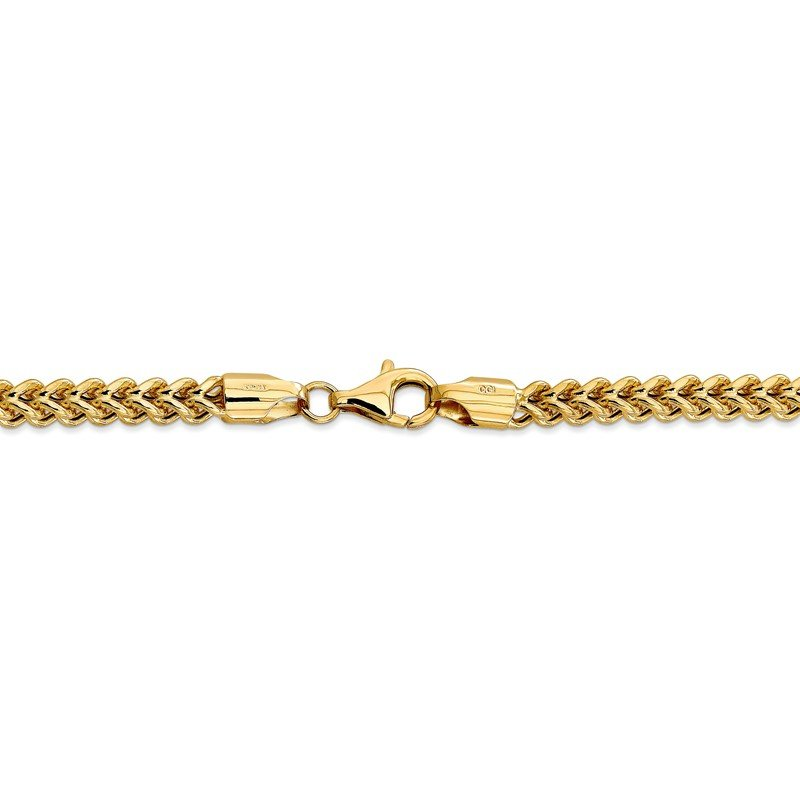 Quality Gold 14k 4.5mm Semi-Solid Franco Chain