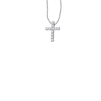 Cento Large Eternity Cross Pendant