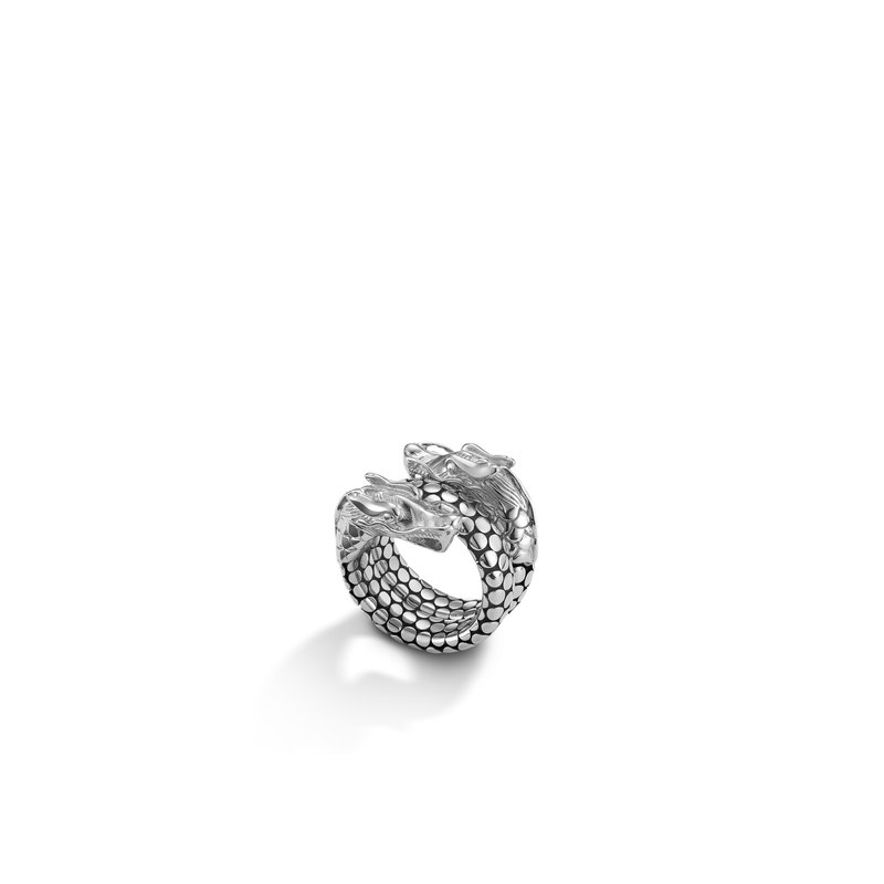 JOHN HARDY Legends Naga Coil Ring in Silver