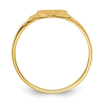 14k Children's Signet Ring