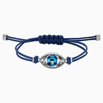 Swarovski Power Collection Evil Eye Bracelet, Blue, Stainless steel