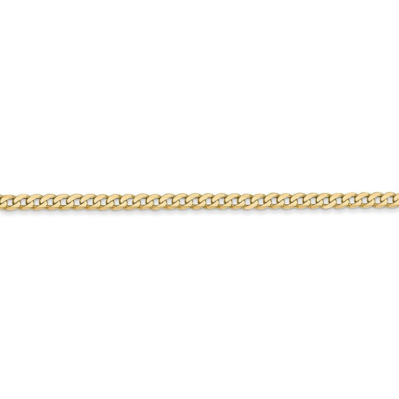 Leslie's Leslie's 14K 2.2mm Flat Beveled Curb Chain