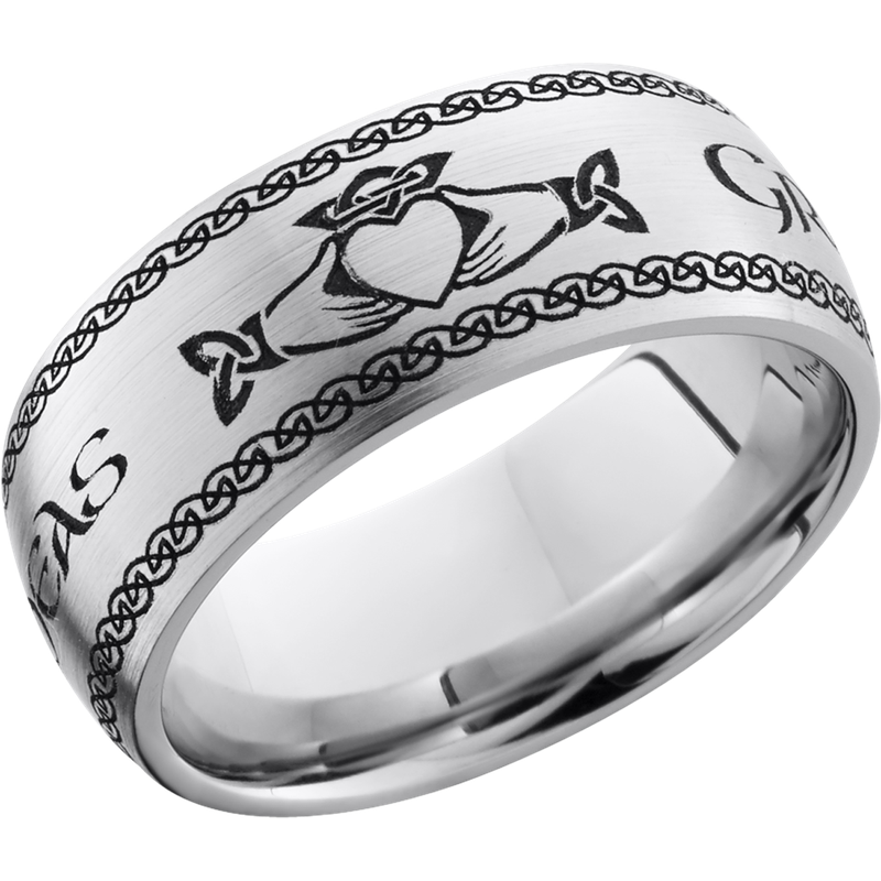 Lashbrook Designs CC9D_LCVCLADDAGH2+SATIN