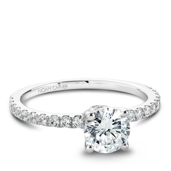 Noam Carver Modern Engagement Ring B022-01A
