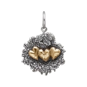 Bundled By Love Nest Charm - 3 Heart