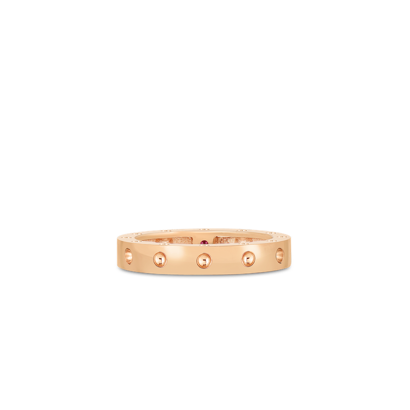 Roberto Coin Round Ring &Ndash; 18K Rose Gold, 7