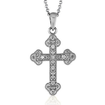 ZP378 CROSS PENDANT