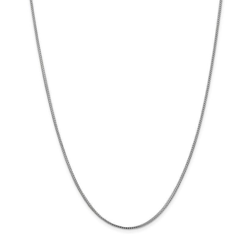 Leslie's Leslie's 14K White Gold 1.1mm Franco Chain
