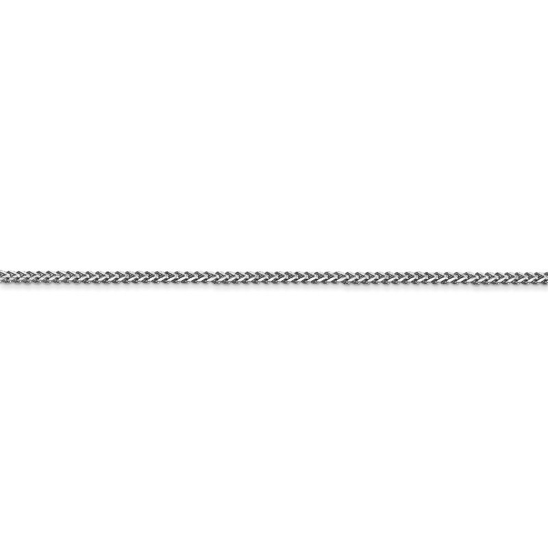 Leslie's Leslie's 14K White Gold 1.1 mm Franco Chain