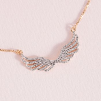 Wing It Gold Necklace