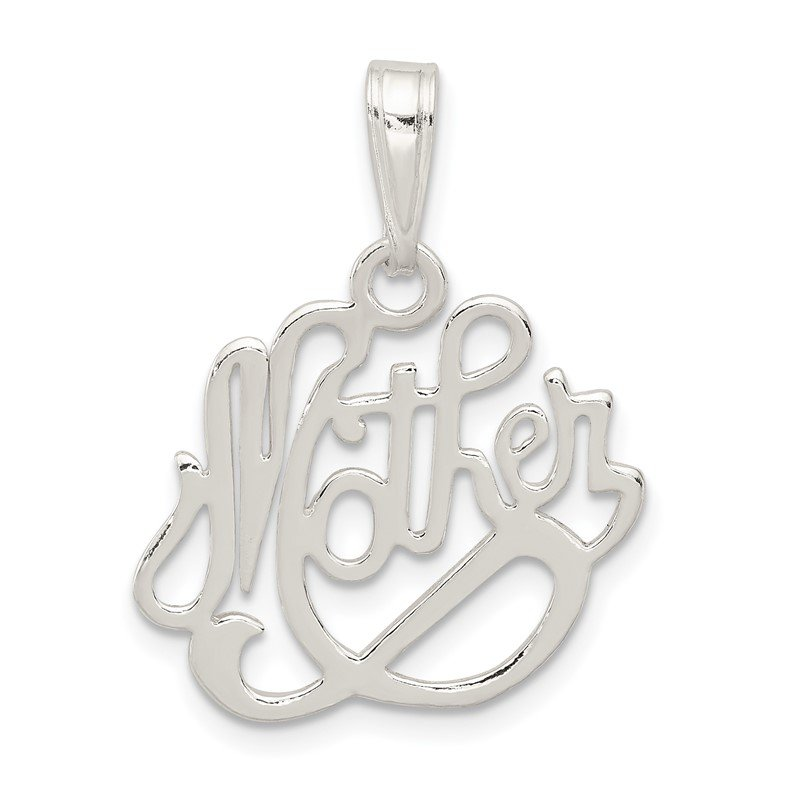 Quality Gold Sterling Silver Mother Pendant