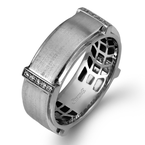 Simon G MR2104 MEN RING