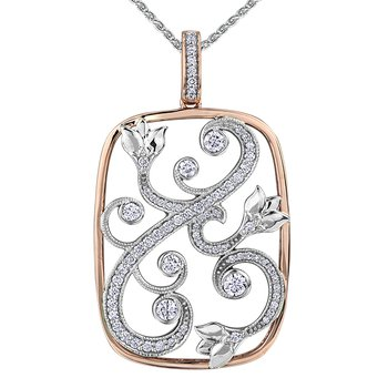 Maple Leaf Diamond, Seasons™ by Shelly Purdy, Pendant