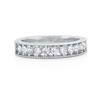 Diamond Eternity Band Set in 14 Kt. Gold