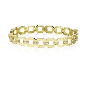 Octagon Link Bangle