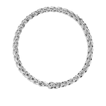 Asli Classic Chain Link 10MM Necklace in Silver