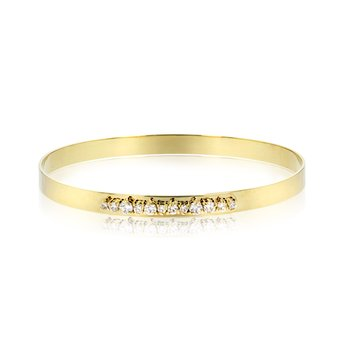 Yellow gold diamond Enchanted bracelet