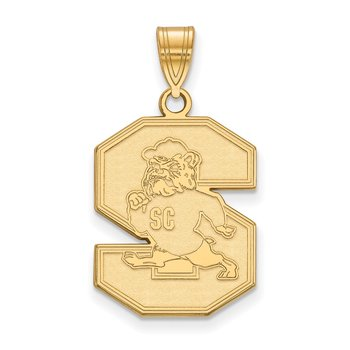 Gold South Carolina State University NCAA Pendant