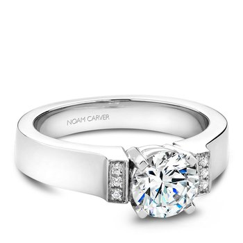 Noam Carver Modern Engagement Ring B042-01A