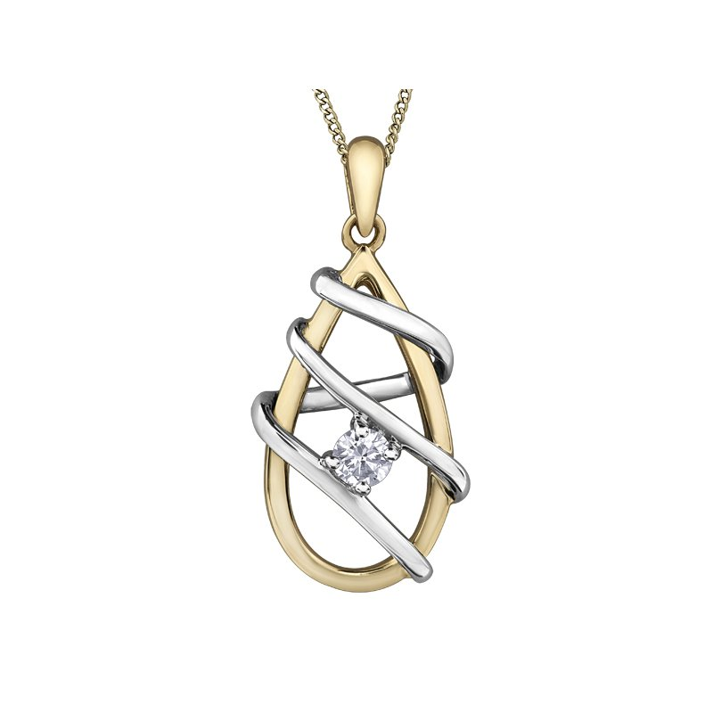 I Am Canadian I am Canadian™ Diamond Solitaire Pendant