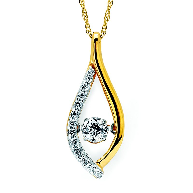 J.F. Kruse Signature Collection Pendant Rd V 0.251