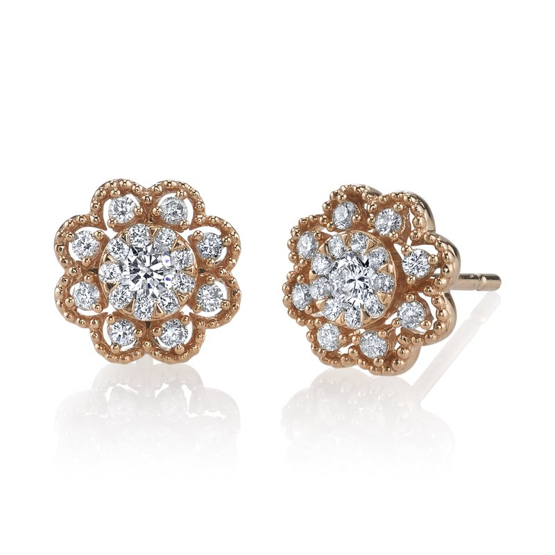 MARS Jewelry MARS 26897 Fashion Earrings, 0.37 Ctw.