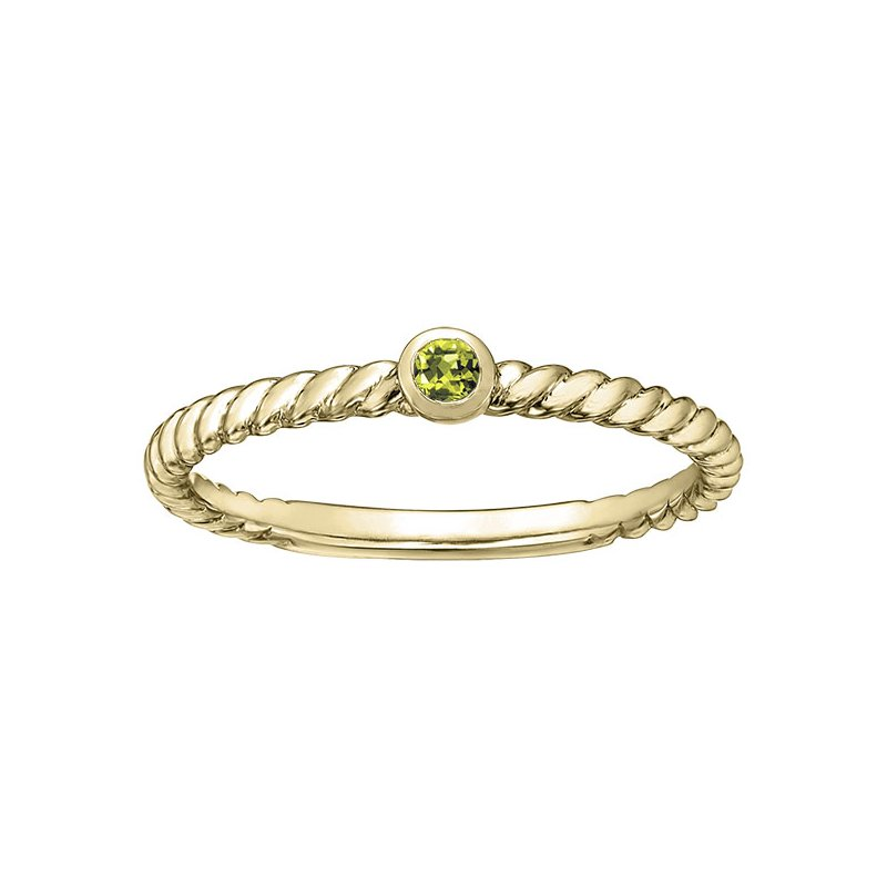 Diamond Days Peridot Ladies Ring