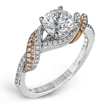 DR353 ENGAGEMENT RING