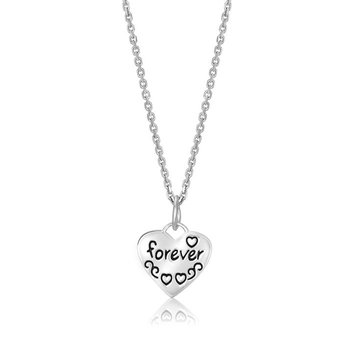 'Friends Forever' Heart Pendant