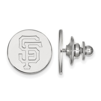 Sterling Silver San Francisco Giants MLB Lapel Pin