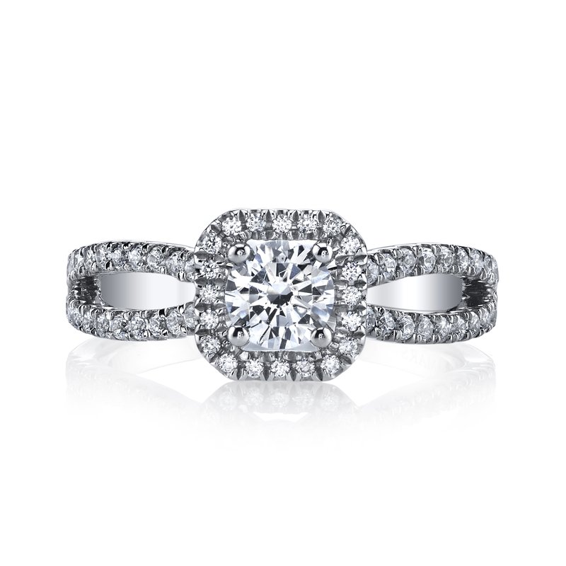 MARS Jewelry MARS 25389 Diamond Engagement Ring 0.37 Ctw.