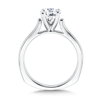 Valina Solitaire mounting .01 tw., 1 ct. round center.