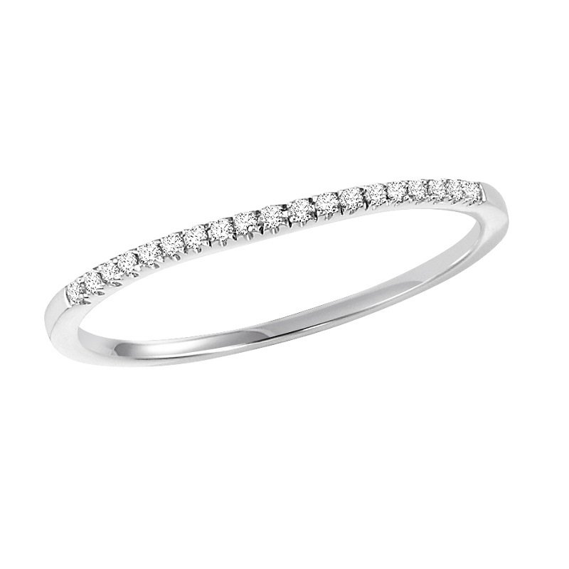 Bridal Bells 14K Diamond Band 1/12 ctw