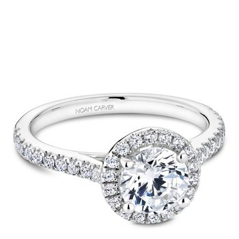 Noam Carver Modern Engagement Ring R050-01A