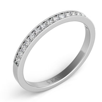 Palladium Diamond Band