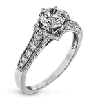 Zeghani ZR811 ENGAGEMENT RING