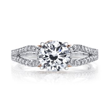 MARS 25993 Diamond Engagement Ring, 0.34 Ctw.