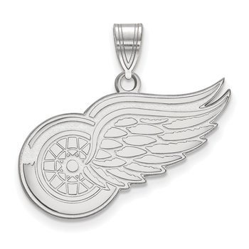 Gold Detroit Red Wings NHL Pendant